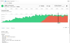 Flood lets DevOps teams test how their applications scale with massive load generated from around the world.
