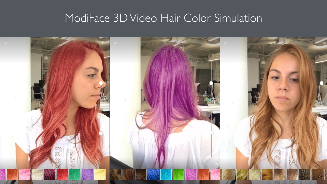 Modiface Launches Live 3d Video Hair Color Simulation Using