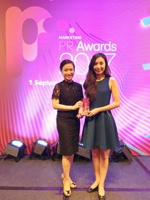 FrieslandCampina (Hong Kong) Limited and its brand, BLACK&WHITE(R) received the Bronze Award for 'Best PR Campaign - Food and Beverage' in the PR Awards 2017.