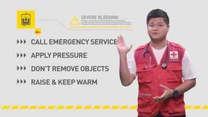 SSFA Ambassador Wee Chee Ong, Severe Bleeding
