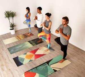 custom yoga mats pixels art marketplace