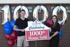 Couple Buys 1000th NEW HOME by San Joaquin Valley Homes