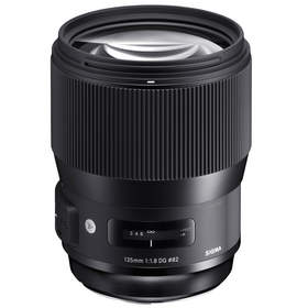 Sigma's portrait-perfect 135mm F1.8 Art lens