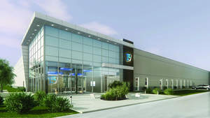 Artist's rendering of new T5@Alliance dara center