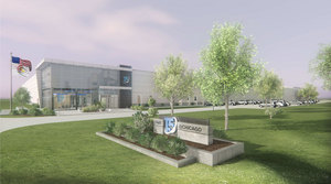 T5  Data Centers' T5@Chicago facility in Elk Grove Village.