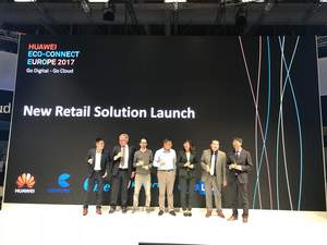 New Retail Solution launch at Huawei Eco-Connect Europe 2017