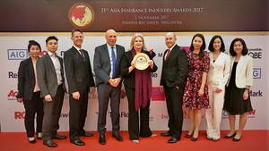 Medix team receives 'Service Provider of the Year' accolade at the 21st Asia Insurance Industry Awards