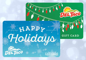Del Taco's Holiday Gift Cards