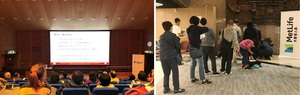 MetLife Hong Kong sponsored the diabetes management activities that attracted over 100 participants.