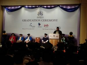 Over 50 engineering students graduate today from University of Portsmouth's degree programmes at Chindwin College Myanmar.