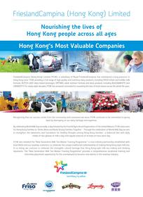 "As one of the ""Top 50 Industry Leaders,"" we will continue to commit to nourishing the lives of Hong Kong people across all ages."